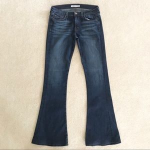 J Brand Martini Flare Dark Wash Denim Jeans